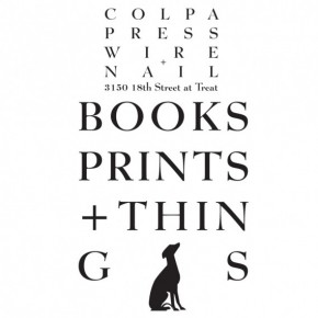 Colpa Press Pop-Up Shop in San Francisco All Weekend!