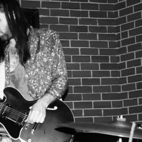Tashaki Miyaki's guitarist, Luke Paquin, adds the scuzzy effect-laden guitar sound to the group.
