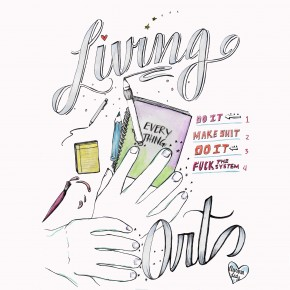 LIVING ART: An Artist's Guide to Creating Your Own World, by Aurora Lady