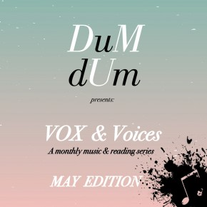 VOX & Voices: MAY EDITION tonight at Stories Books & Cafe