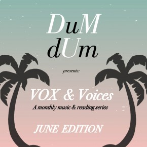 VOX & Voices: JUNE EDITION tonight at Stories Books & Cafe