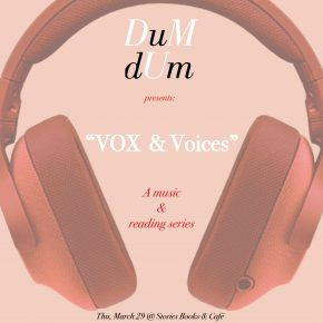 "The return of ""VOX & Voices: Music & Reading Series"